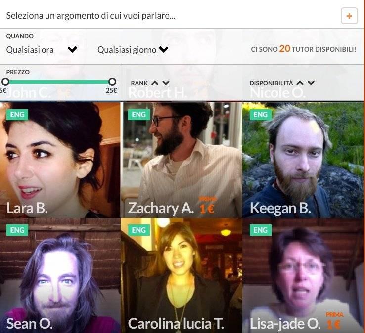 Fluentify, la startup italiana dell'inglese online