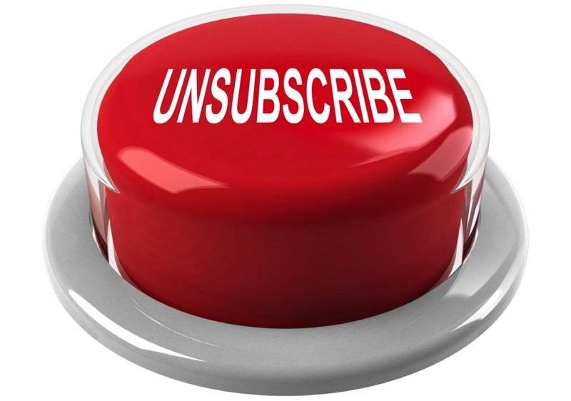 Email marketing: ridurre il tasso di cancellazione dalla tua newsletter