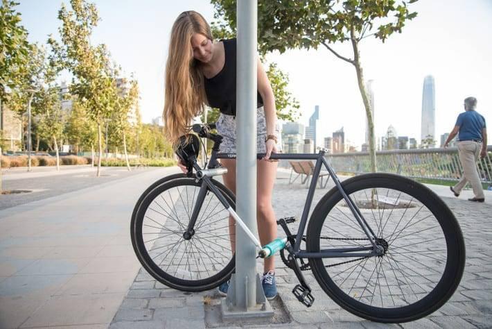 Yerka, la bicicletta impossibile da rubare!