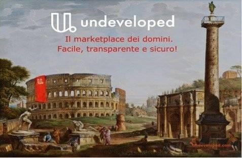 Comprare e vendere Domini: in Italia arriva Undeveloped
