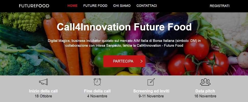 Parte Future Food e Digital Magics chiama le startup del cibo