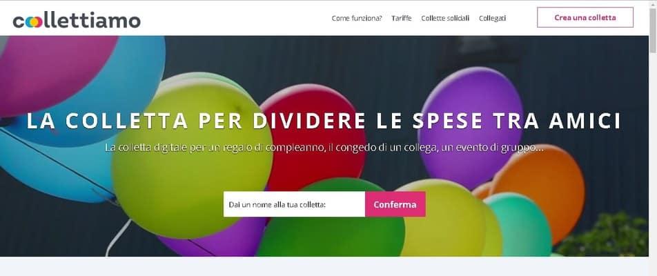 Collettiamo, la startup delle collette online!
