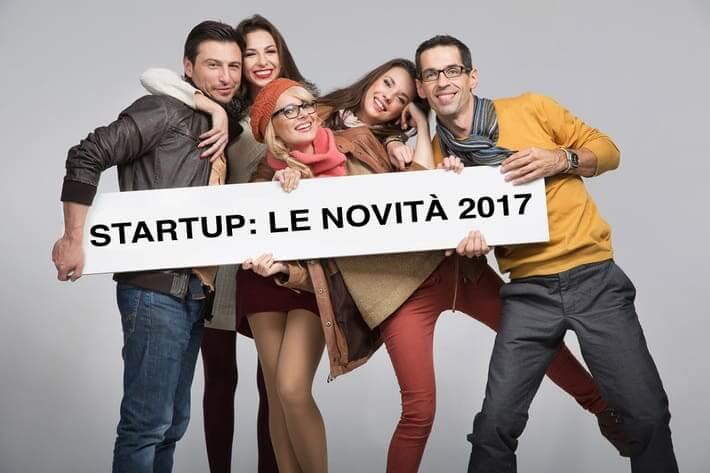 Startup: le principali novità per il 2017