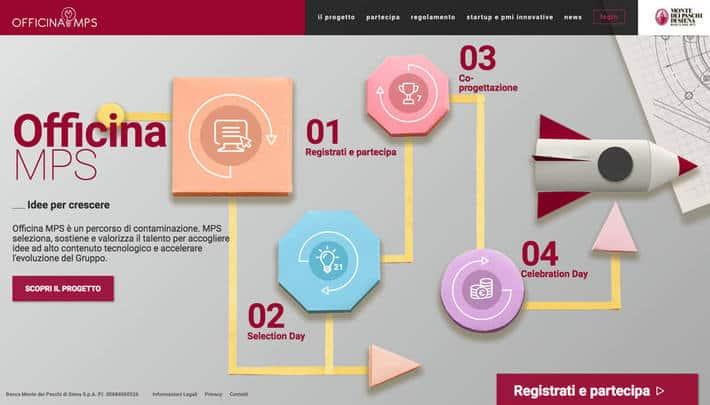 Call per startup da MPS: al via Officina MPS