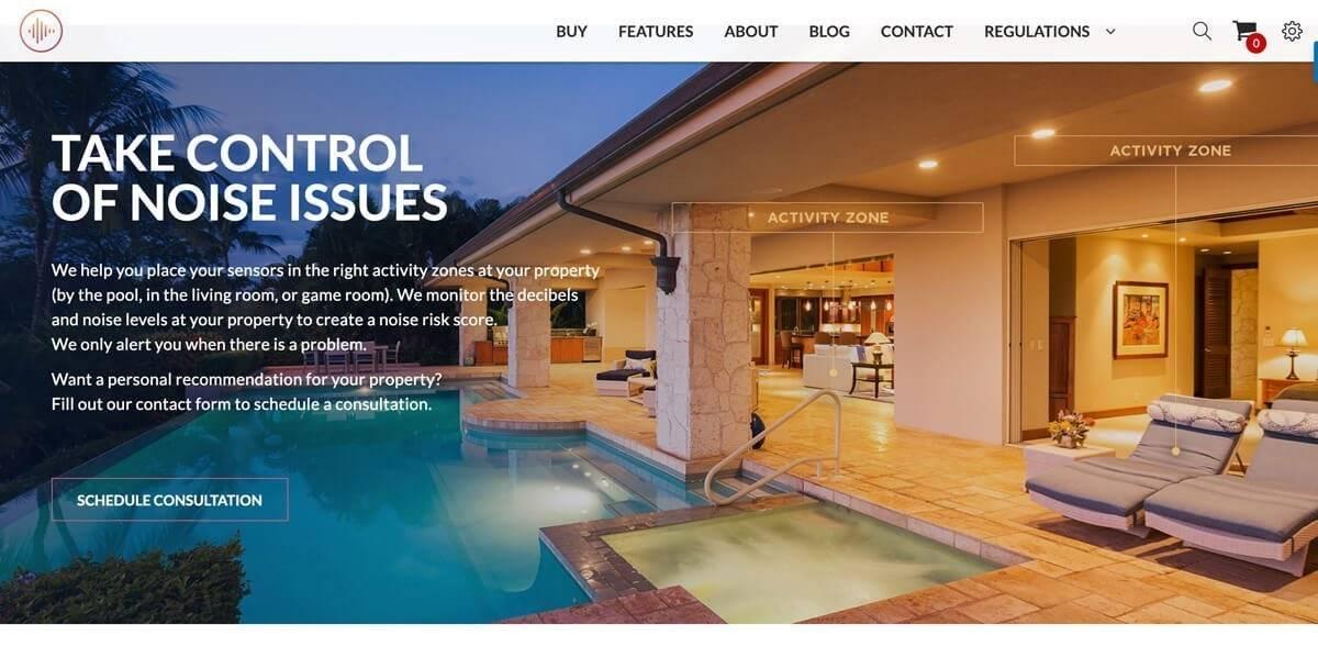Segnalatori di rumore per chi affitta appartamenti con Airbnb