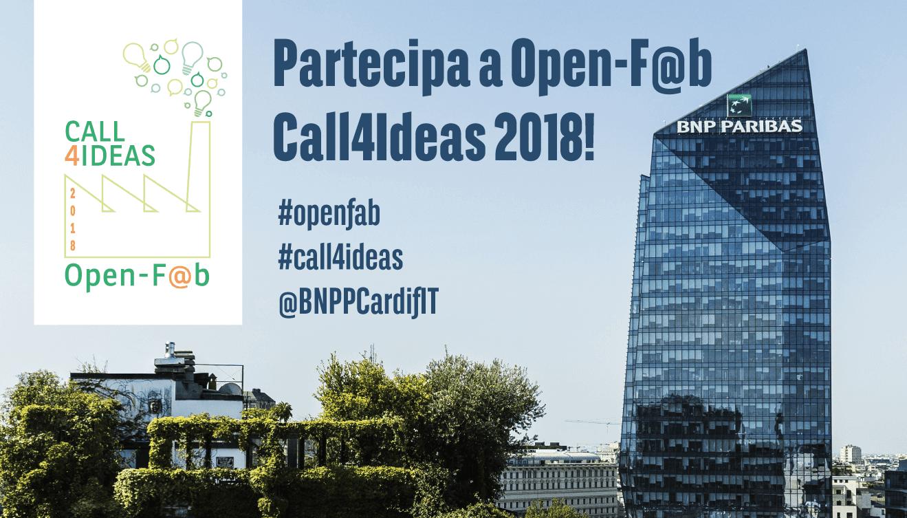 A Open-F@b Call4Ideas 2018 le idee sostenibili diventano realtà