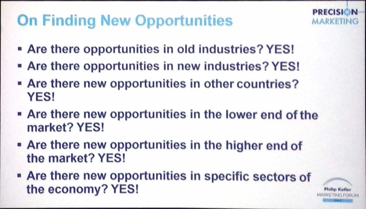 Finding Opportunity Philip Kotler Startup-News