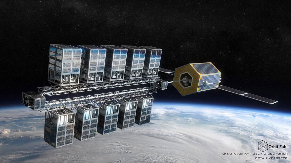 Orbit Fab, la prima startup spaziale vuole mettere in orbita una stazione di servizio extra-terrestre