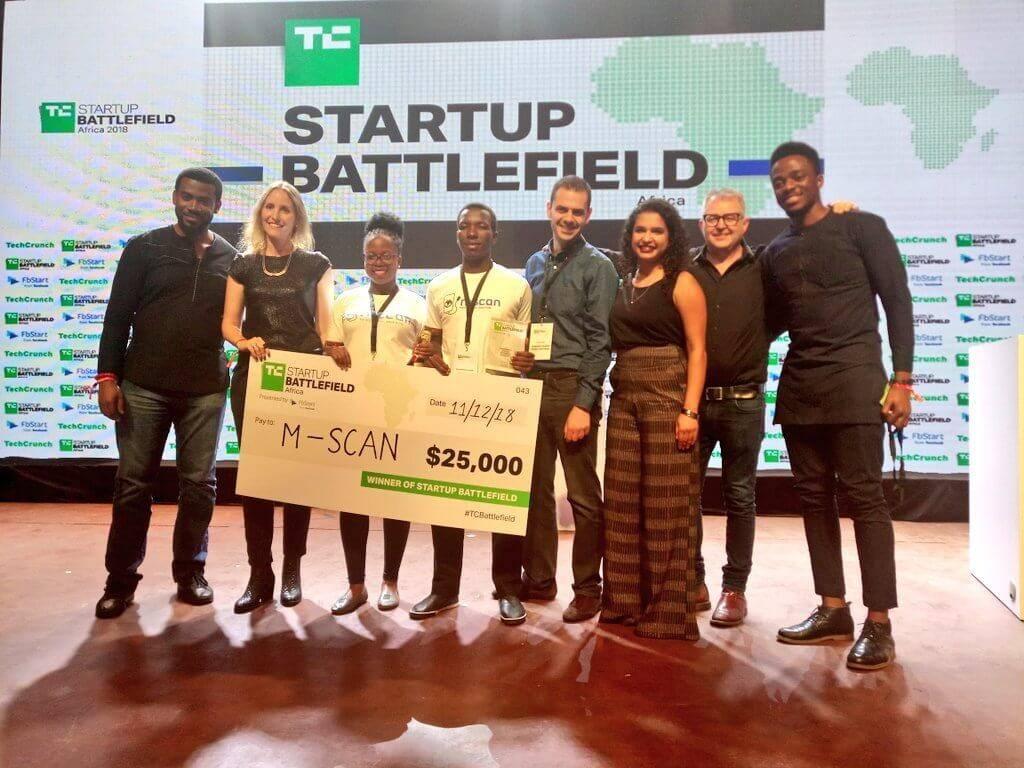 I creatori di un ecografo portatile economico vincono la gara tra startup africane