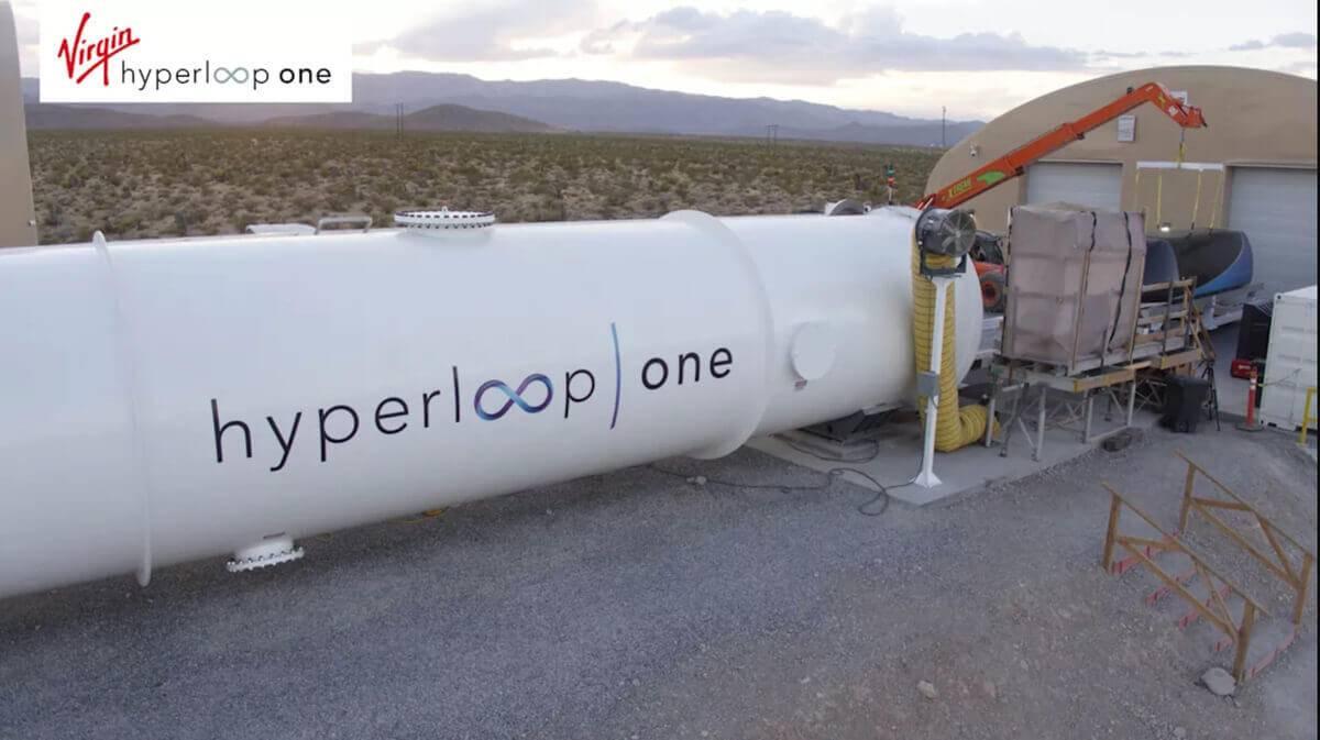 In California si testa un sistema di trasporto all'interno di tubi che raggiunge i 1000 km/h