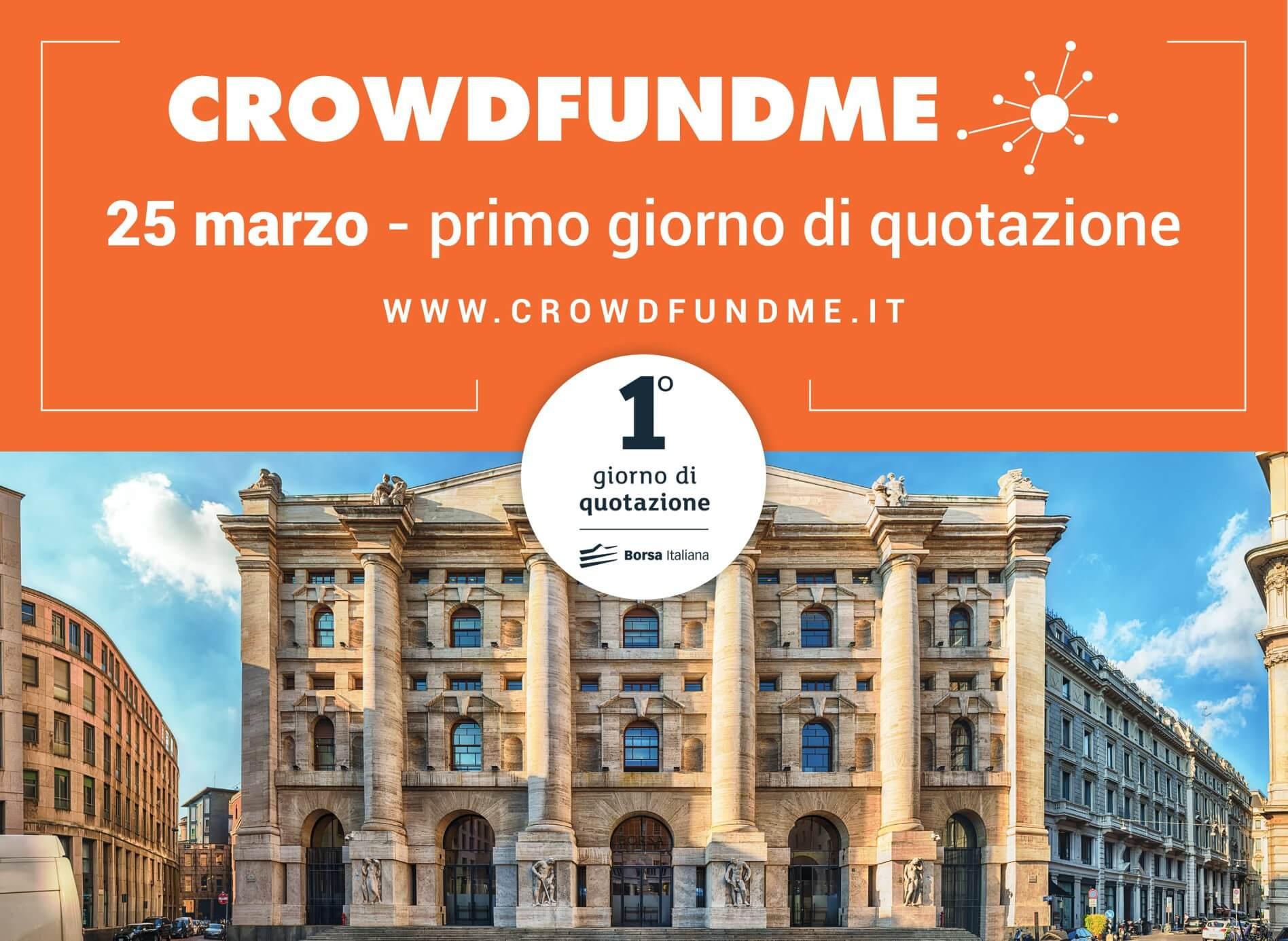 CrowdFundMe si quota in Borsa!