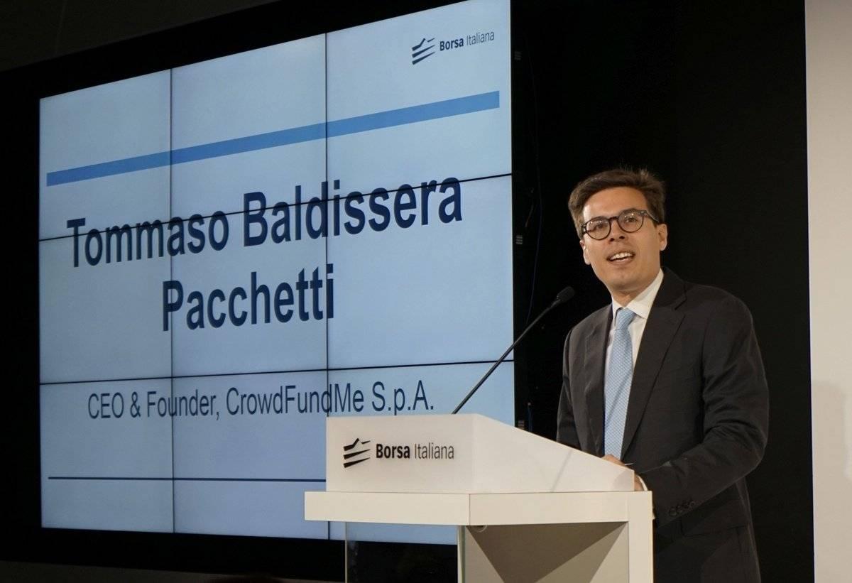 Tommaso Baldissera Pacchetti, Ceo di CrowdFundMe.