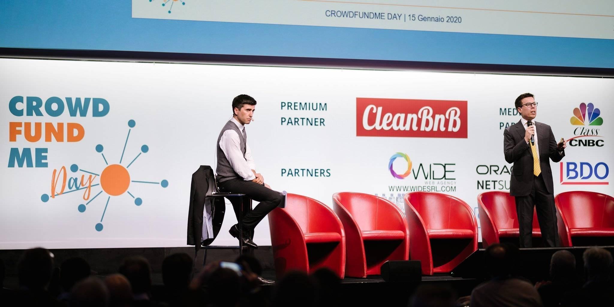CrowdFundMe Day, startup e investitori nel tempio dell'Alta Finanza
