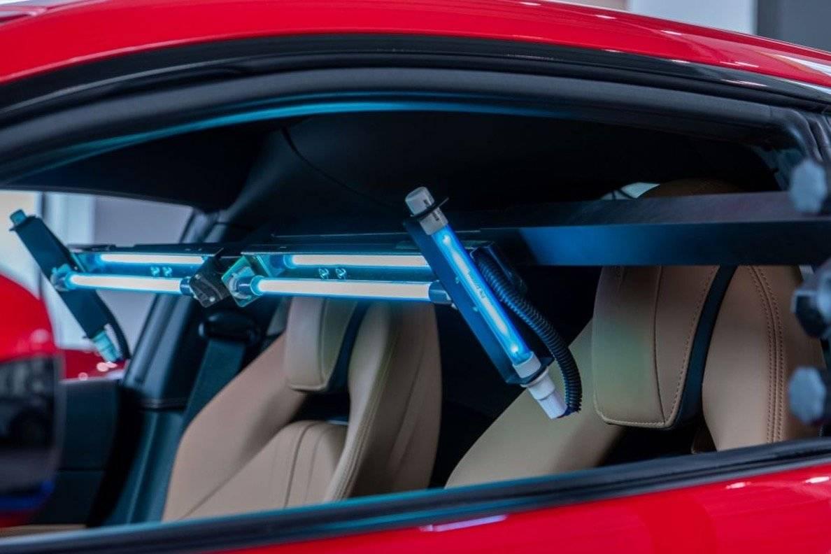 Colibrì UVC la startup per la sanificazione dell'auto