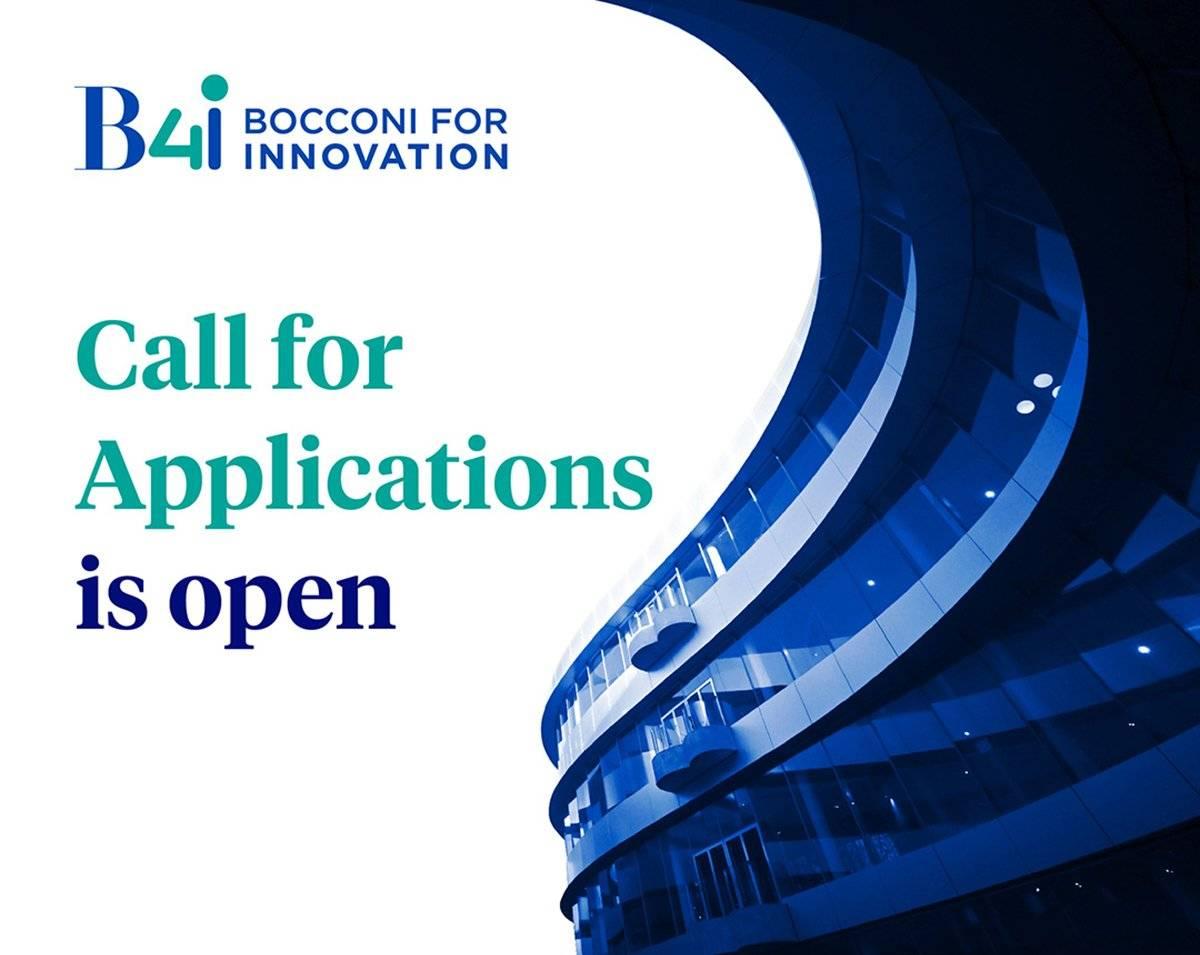 """Aperta la terza """"Bocconi for innovation Startup Call"""" dal 9 novembre al 7 gennaio 2021"""
