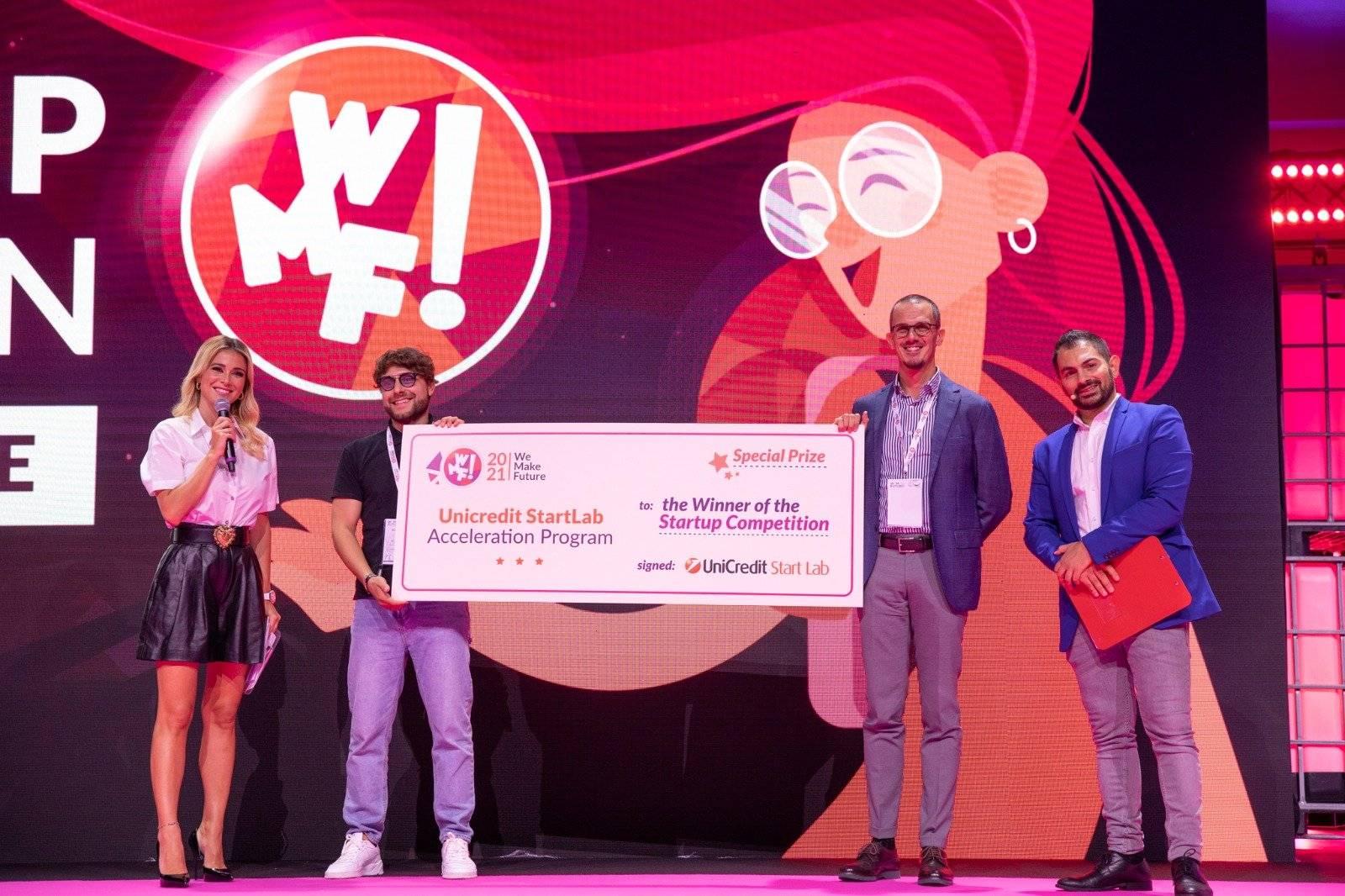 Recornea e MyLeg vincono la 9^ edizione della Startup Competition al WMF2021